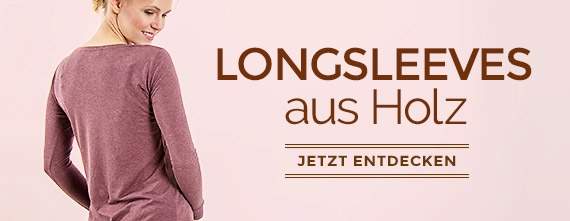 wijld Essential Basics - faire T-Shirts & Longsleeves als Holz