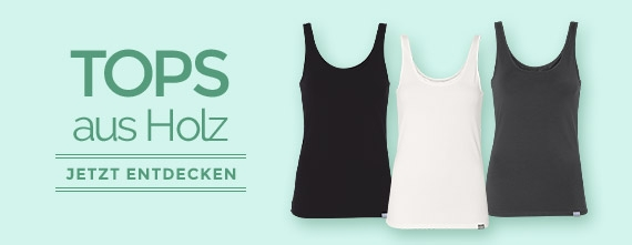 wijld Essential Basics - faire T-Shirts & Tank Tops aus Holz