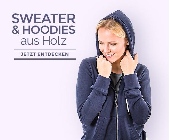 umweltfreundliche Sweater & Hoodies aus Holz by wijld - Jetzt entdecken