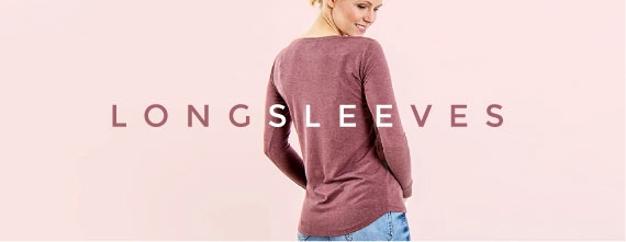 ladies longsleeves made of wood - sustainable basics from wijld