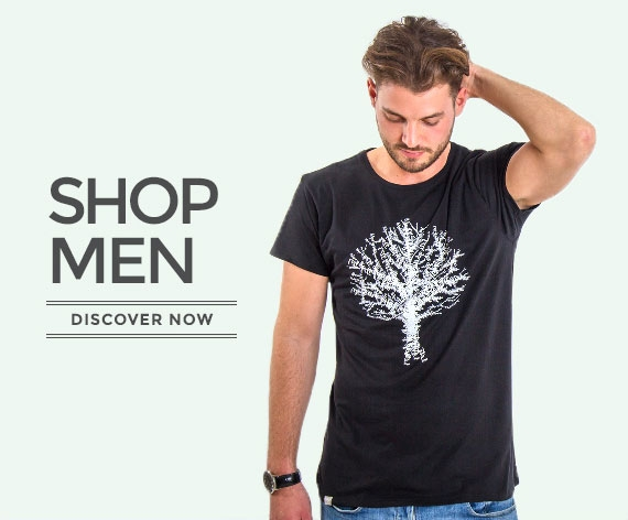 Fair and ecofriendly clothing for men