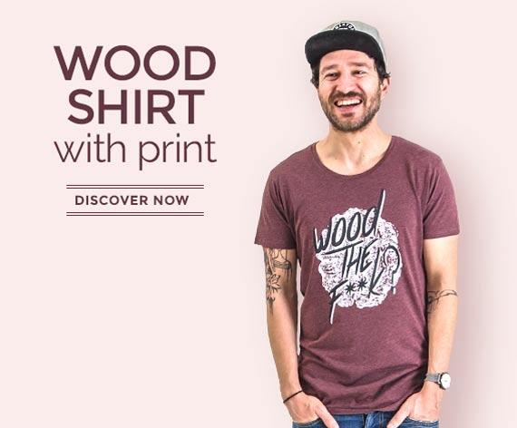T-Shirts made of wood - MEN