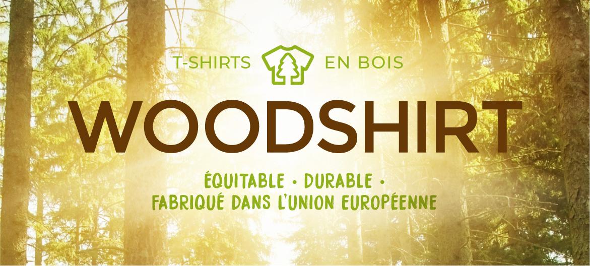 mit nachhaltigen und fairen T-Shirts aus Holz neue Wege gehen