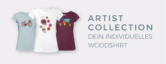 individuelle faire Kleidung - Stell dir dein T-Shirt aus Holz zusammen