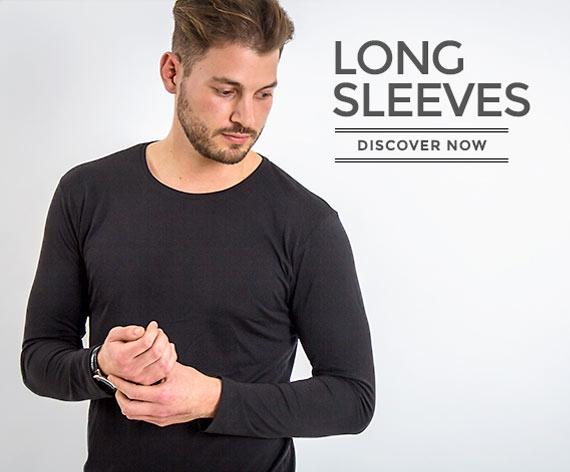 Longsleeves made of wood for men