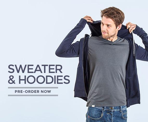 Sweater and hoodies made of wood - fair & ecofashion