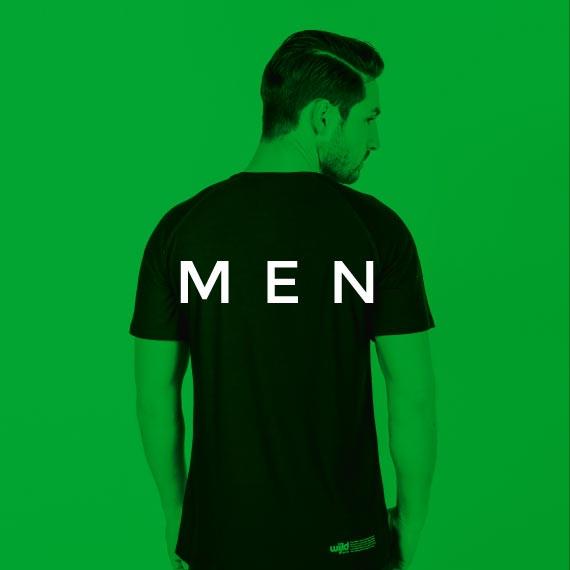 Sportshirt für Männer von wijld