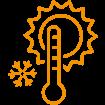 Temperaturregulierung von Strickpullovern aus Holz