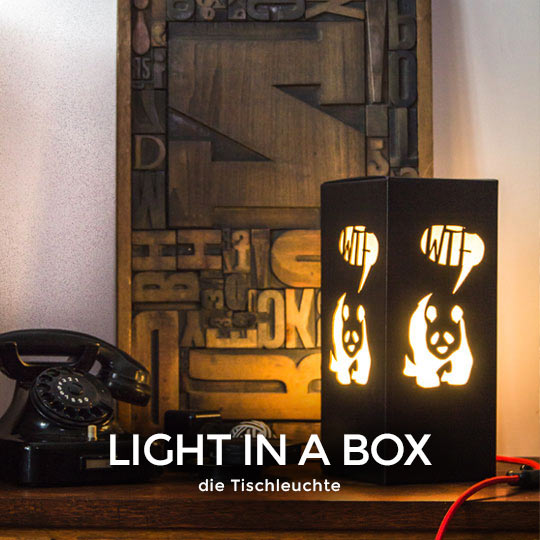 Designlampe - Light In A Box von wijld