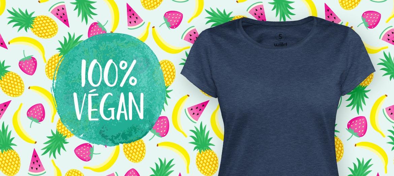 100% vegane T-Shirts für Frauen, nachhaltig & fair gefertigt sowie PETA approved