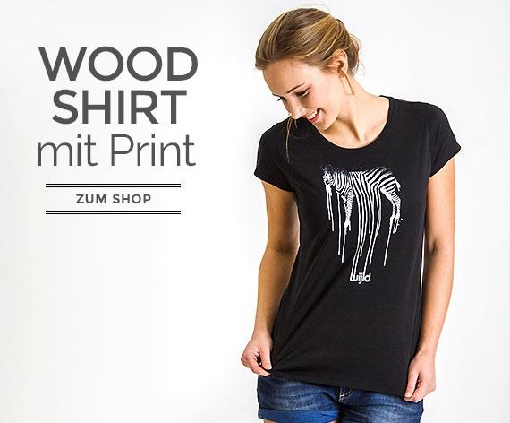 T-Shirts aus Holz für Frauen