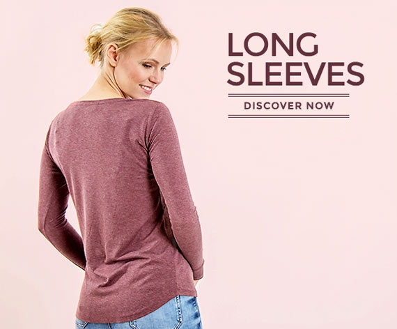 Longsleeves made of wood for women