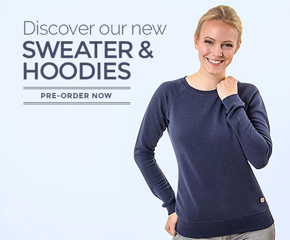 Sweater and hoodies made of wood - fair & ecofashion for women