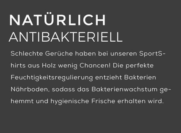 Sportshirts von wijld wirken antibakteriell