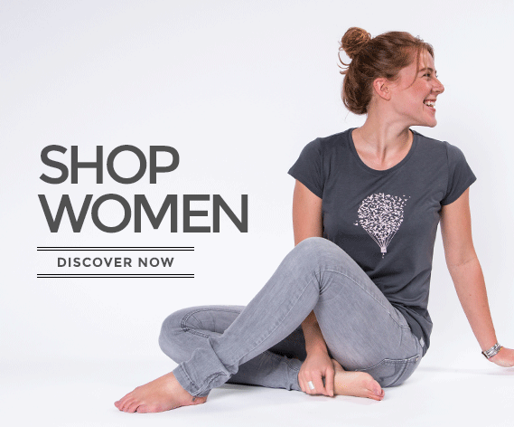 WoodShirt by wijld - sustainable fashion for women