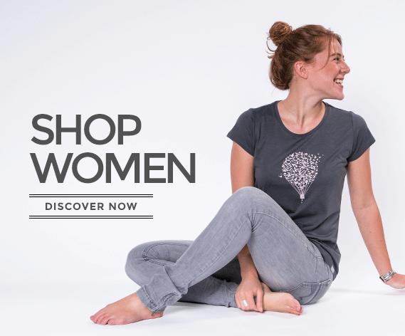 WoodShirt by wijld - Mode aus Holz für Frauen