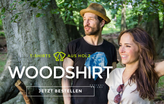 woodshirt by wijld T-Shirts aus Holz