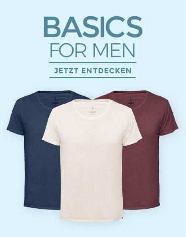 WoodShirt by wijld - Mode aus Holz für Männer - Basics
