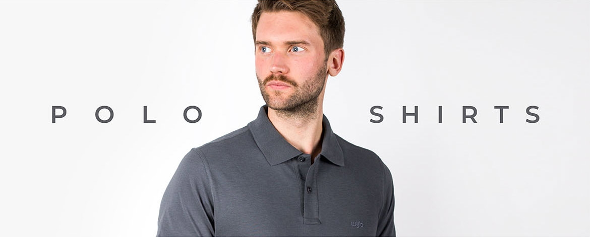 Poloshirt made of wood for men