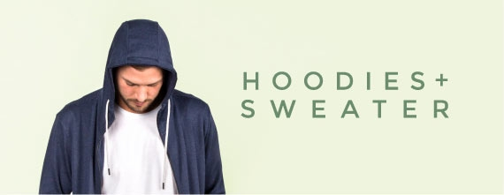 fair & sustainable wooden sweaters and hoodies for men