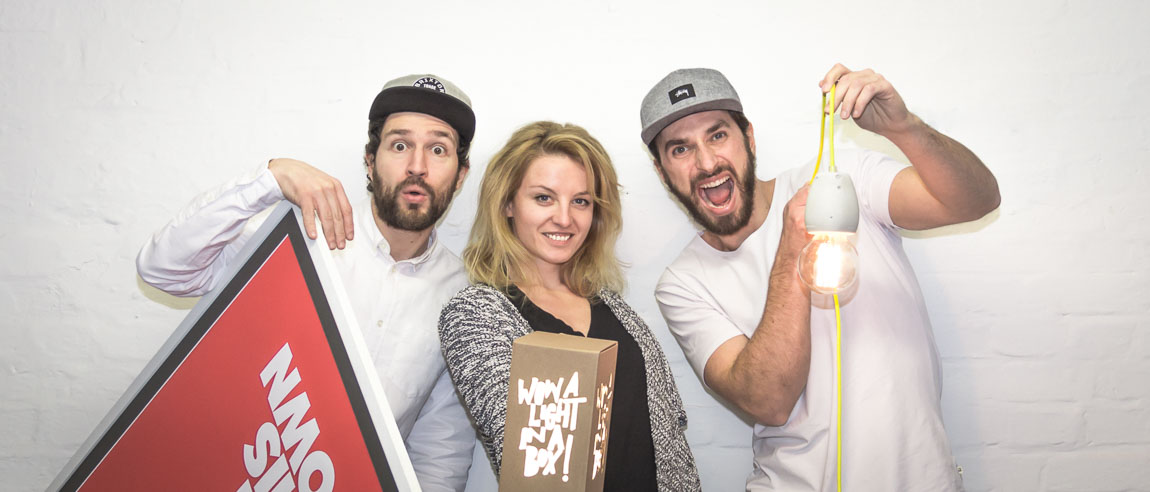wijld team- angelo, aline & timo